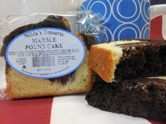 Nothing beats the original NILDA'S DESSERTS marble cake. Try some today!