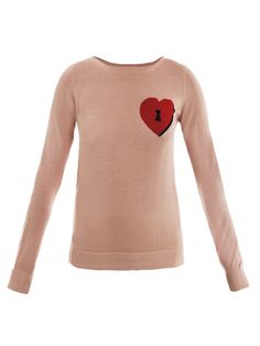 This @DVF sweater with a lock & heart motif on the chest, will pair nicely with a vibrant skirt & heels for a Spring on trend look $171, get it here:  http://rstyle.me/~fmiZ