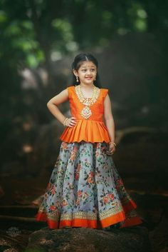 b1b815a26 Kids Ethnic Wear, Kids Wear Indian, Peplum Tops, Kids Lengha Choli, Lehengas