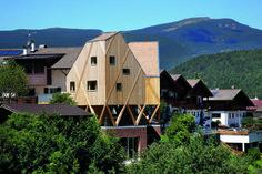 Atelier und Wohnhaus aus Holz | Modus Architects ©Niccolo Morgan, Gandolfi Richard Günther Wett, Innsbruck