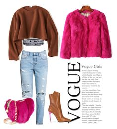 Untitled #128 by danilomk on Polyvore featuring polyvore moda style Uniqlo H&M Yves Saint Laurent Betsey Johnson fashion clothing