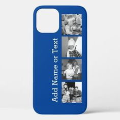 Customized Invitations, Instagram Collage, Photo Blue, 4 Photos, Plastic Case, Apple Iphone, Iphone Cases, Create, Prints