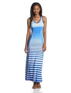 Calvin Klein Women's Sleeveless Stripe Maxi Dress, Multi, 4 Calvin Klein http://www.amazon.com/dp/B00GW80BQC/ref=cm_sw_r_pi_dp_x3jyub0Z3WHC6