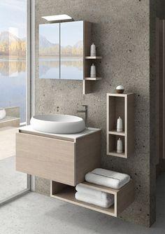 Bathroom Vanity Designs, Bathroom Design Luxury, Single Bathroom Vanity, Modern Bathroom Design, Bedroom Furniture Design, Bathroom Furniture, Bathroom Plans, Bathroom Sinks, Washbasin Design