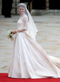 Wedding Dresses - $363.26 - Ball-Gown V-neck Cathedral Train Satin Lace Wedding Dress With Ruffle Bow(s) (00205001053)