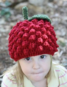 Knitting Raspberry Stitch In The Round : Crochet & Knit HATS     on Pinterest Hat Patterns, Crochet Hats and Berets