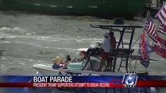 Pam Bondi, Boat Parade, Eric Trump, Guinness World, Trending Today, World Records, Weekend Is Over, Dan