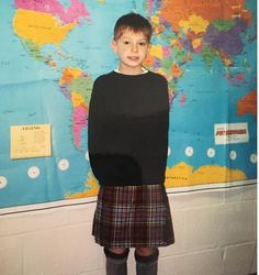 Boys Dress Outfits, Baby Boy Outfits, Girls Dresses, Guys In Skirts, Boys Wearing Skirts, Young Boys Fashion, Boy Fashion, Boys Kilt, Clothing Exchange