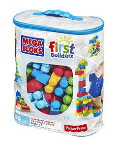 Mega Bloks First Builders Big Building Bag, 80-Piece (Classic) Mega Bloks http://www.amazon.com/dp/B007GE75HY/ref=cm_sw_r_pi_dp_eKgIvb0A2W37H