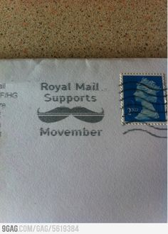 Check out more muscle and fitness workouts http://muscleandfitnessworkouts.com/v9do The British postal service supports Movember.