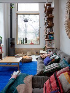 Living Room Interior, Living Room Decor, Living Spaces, Bedroom Decor, Interior Architecture, Interior Design, Piece A Vivre, House Rooms, Home Decor Inspiration