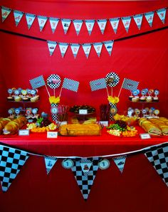 Disney Cars Birthday Oneyearold Handmade Decorations Frefren Party Ideas