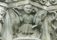 Thouars, Église St.-Médard, entry, detail