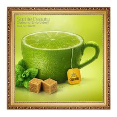 2017Diamond Mosaic Full Diamond Embroidery Green Tea Cup 5D Diy Diamond Painting Cross Stitch Square Diamond Set Home Decorative-in Diamond Painting Cross Stitch from Home & Garden on Aliexpress.com | Alibaba Group