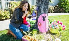 How To Make Your Own Easter Bunny Door! | Hallmark Channel