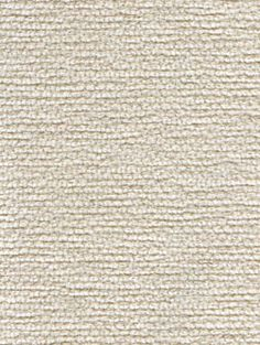 Ropey texture gives visual and dimensional interest to this incredibly soft cotton chenille Porthos in Cream for residential upholstery.
