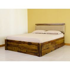 Belle Double Bed with Storage