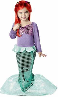 kids little mermaid costume