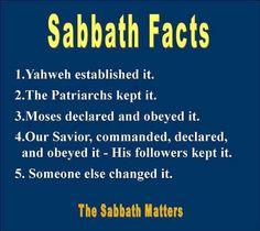 Sabbath facts | Shabbat Shalom!