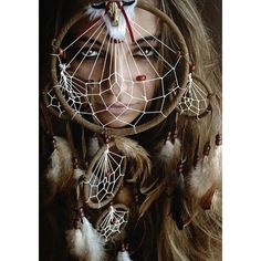 Native american women dreamcatcher Photoshoot ideas ❤ liked on Polyvore featuring native american
