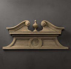 Swan's Neck Architectural Pediment