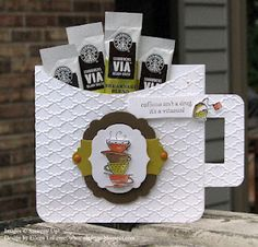 Mug coffee holder tutorial. Thanks Eileen!