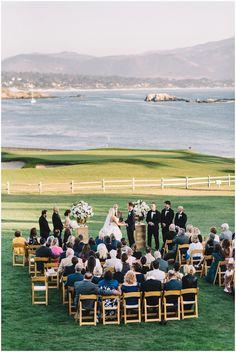 Bridget   Jesse's Pebble Beach Wedding Ceremony   Ahava Studios
