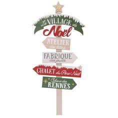 Panneau de Noël décoratif H95 | Maisons du Monde