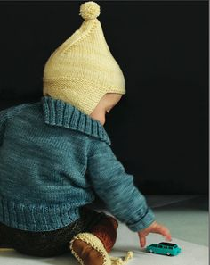 misha and puff, f/w 13. love the gnomey hat and colors. (knitting inspiration)