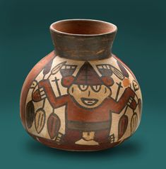 Nazca pottery. Pinned by Gilbert de Jong.