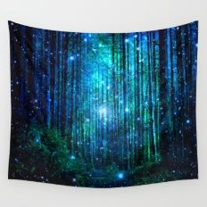 Wall Tapestry featuring Magical Path by Haroulita