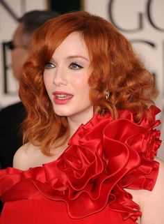 Splendid paragon of beauty Christina Hendricks ...  Classy Hairstyles...   she has starred in the series The Big Time and The Court, opposite Sally Field and Craig Bierko, as well as the legal drama Kevin Hill, which was filmed in Fort Cobb, Oklahoma.