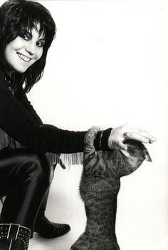Joan Jett - Rock guitarist, singer, songwriter, producer and occasional actress, best known for her work with Joan Jett & the Blackhearts.
