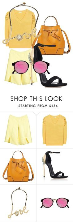 """Untitled #2808"" by bellagioia ❤ liked on Polyvore featuring Livlov, Chloé, 3.1 Phillip Lim, Casadei, Lanvin and RetroSuperFuture"