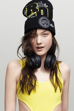 "blissfully-chic: ""Yumi Lambert for Adidas Originals by Rita Ora """