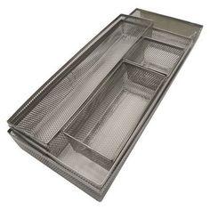 5pc Metal Mesh Drawer Organizer Set - Room Essentials™ : Target