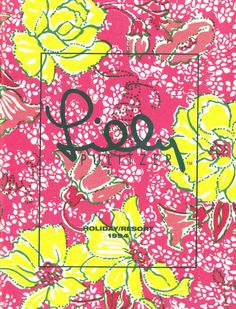 The Lilly Pulitzer 1994 Resort Catalog cover