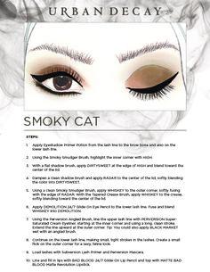 Urban Decay Naked Smoky Palette: Smoky Cat Eye Look