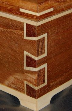 Double Dovetail box - by Adam @ LumberJocks.com ~ woodworking community