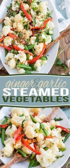 Recipes for electric steamer httpgeorgeforemanrecipes ginger garlic steamed vegetables steam veggiessteam vegetables recipessteamer forumfinder Image collections