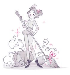 A little witch. ★ || CHARACTER DESIGN REFERENCES (www.facebook.com/CharacterDesignReferences & pinterest.com/characterdesigh) • Love Character Design? Join the Character Design Challenge (link→ www.facebook.com/groups/CharacterDesignChallenge) Share your unique vision of a theme every month, promote your art and make new friends in a community of over 25.000 artists! || ★