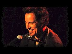 """One of my favorite songs from Bruce Springsteen - """"I Wish I Were Blind"""", performed live from a 2005 concert with Bruce on piano."""