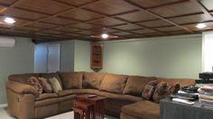 (formerly) Ugly Ceilings ... in Springfield, N.J. - daily 5 Remodel
