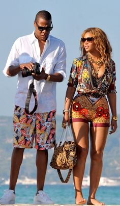 Jay Z and Beyonce in Ibiza