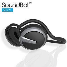 SoundBot¨ SB221 HD Wireless Bluetooth 4.0 Headset Sports-...