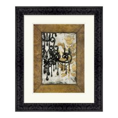 Surya LJ4092-2936 Antique Chandelier I Framed Art