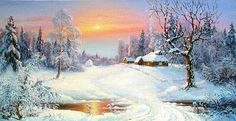 VK is the largest European social network with more than 100 million active users. Snow Scenes, Winter Scenes, Winter Scene Paintings, Nature Drawing, Winter Landscape, Flower Boxes, Beautiful World, Beautiful Pictures, Scenery