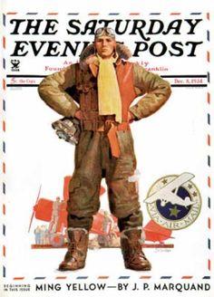 1934-12-08: Airmail Pilot (John E. Sheridan) Saturday Evening Post