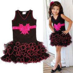 Find More Dresses Information about Black Cute Sleeveless Sequined Vestido Dress Girls Toddler 3D Flower Layered Princess Party Pageant Wedding Kids Formal Dresses,High Quality dress flower,China dress basic Suppliers, Cheap dress up black dress from Fashion SuperDeal Co., Ltd on Aliexpress.com