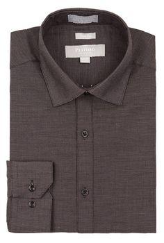 Elegant Clothes Men/'s Shirt Long Sleeve Pure Color Slim Fit Classic Social Top Blouse Men Shirts,Black,S,United States